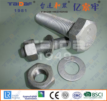 A325/A563/F436 Heavy hex structural bolts