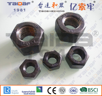 A194 2H/2HM / A563 Heavy Hex Nuts